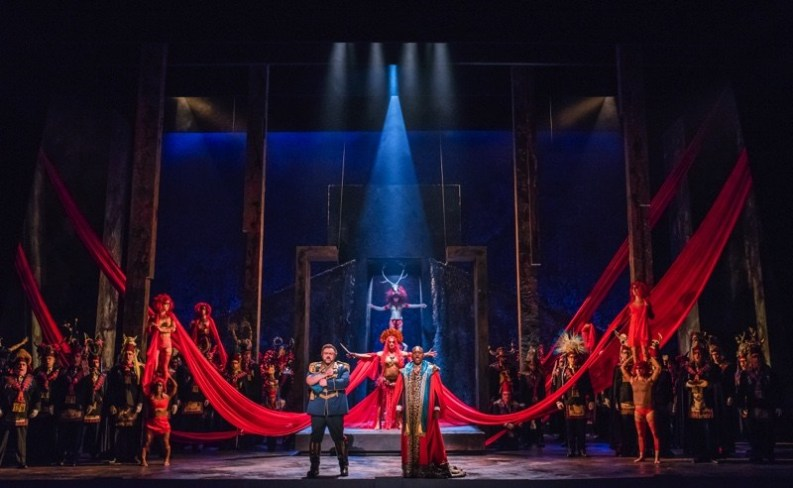 Basil Twist Aida at Houston Grand Opera