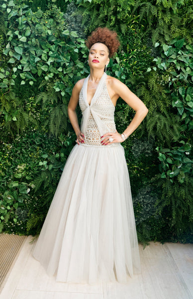 Andra Day in Chanel Haute Couture