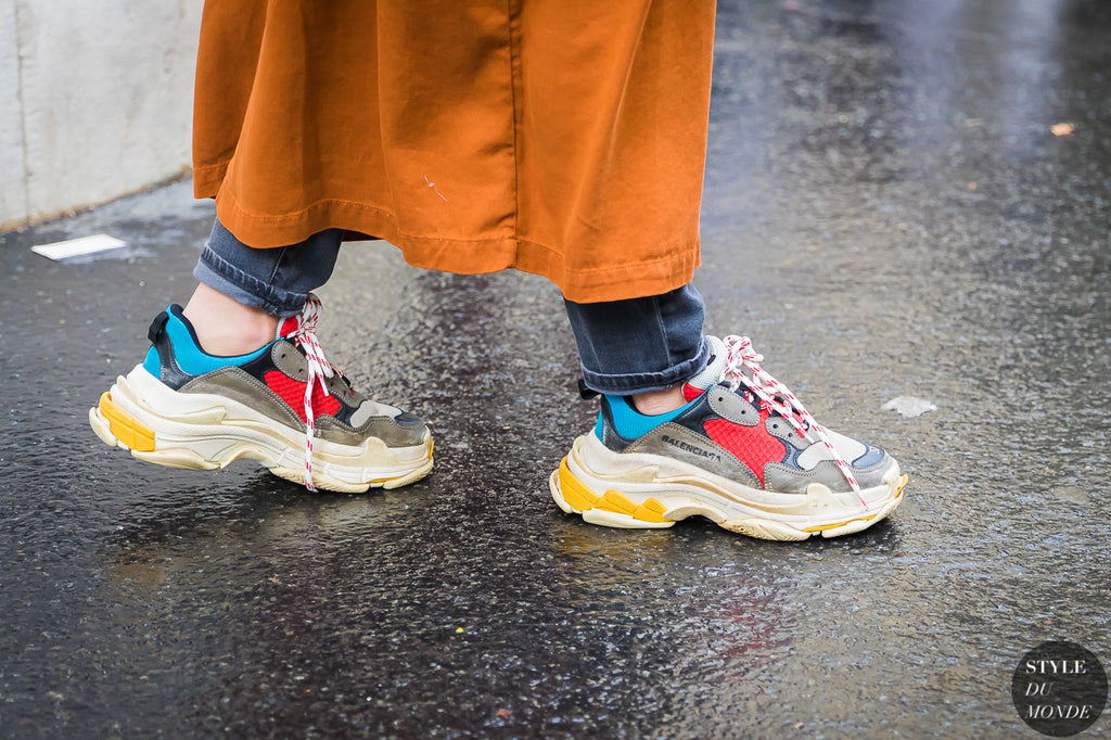 Balenciaga sneakers Paris Fashion week