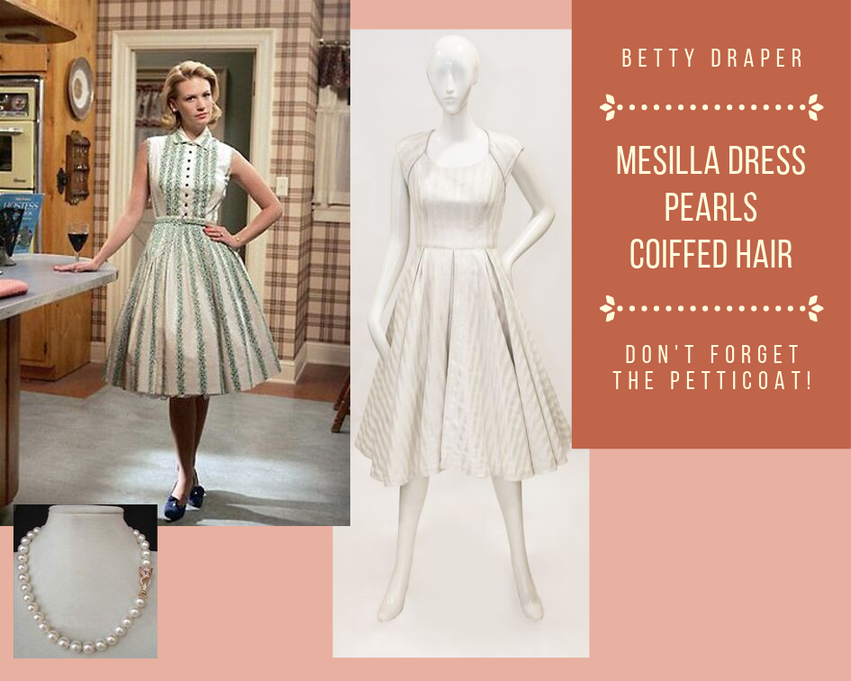 Betty Draper Mad Men Costume