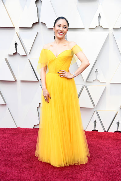 Constance Wu Oscars Red Carpet