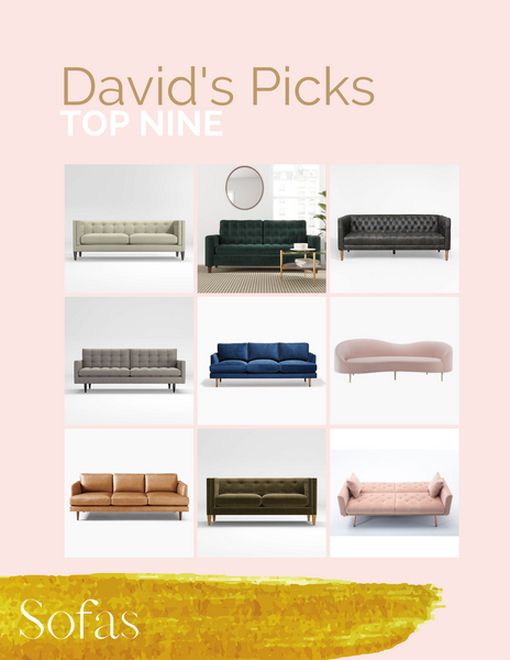 David Peck's top 9 couches and sofas