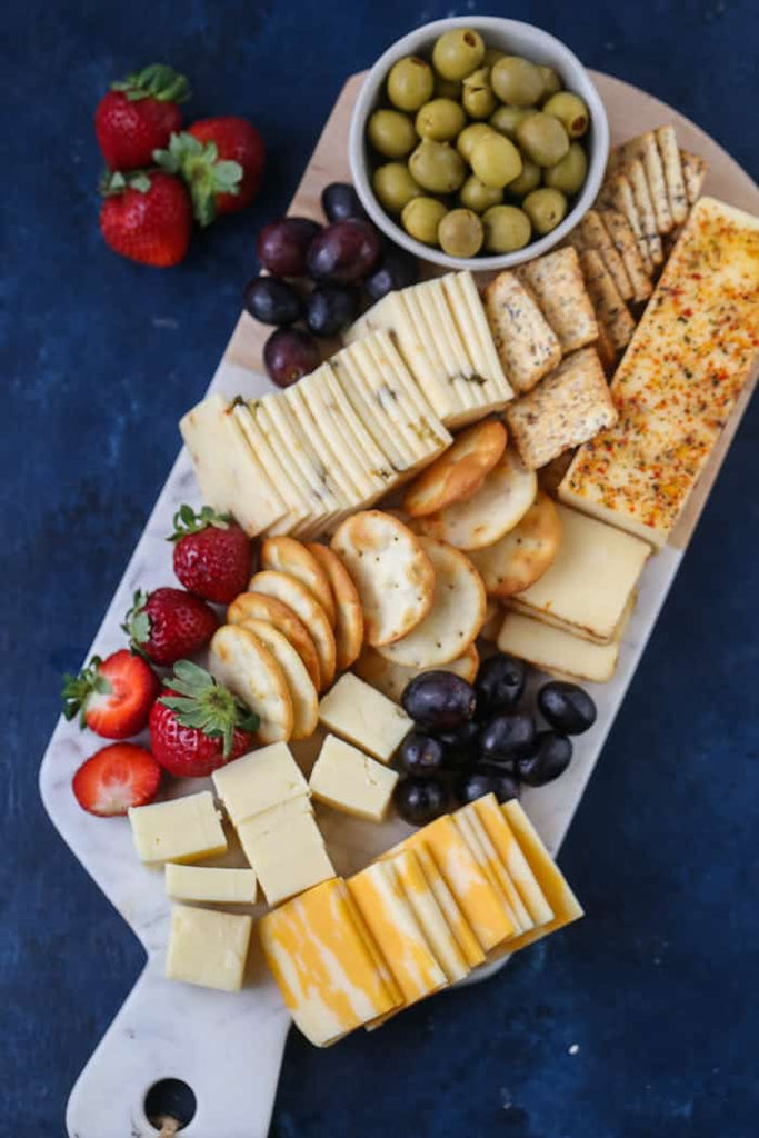 Making a Cheese Board for Easy Entertaining from A Simple Twist with Zainab Storms