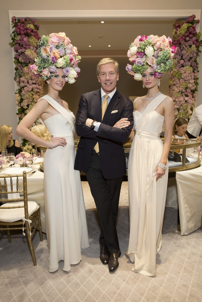 Harry Winston luncheon, Models in Miles David gowns by David Peck