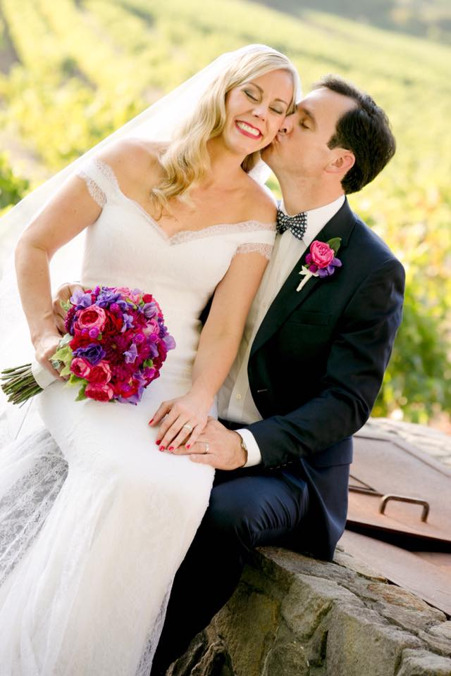 Miles David by David Peck, Custom Wedding Gown, Napa Wedding, Sonoma Wedding, Destination Wedding