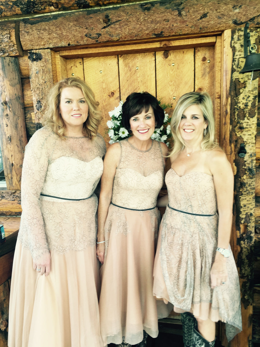 Custom Bridesmaid Dresses, Miles David by David Peck custom dress