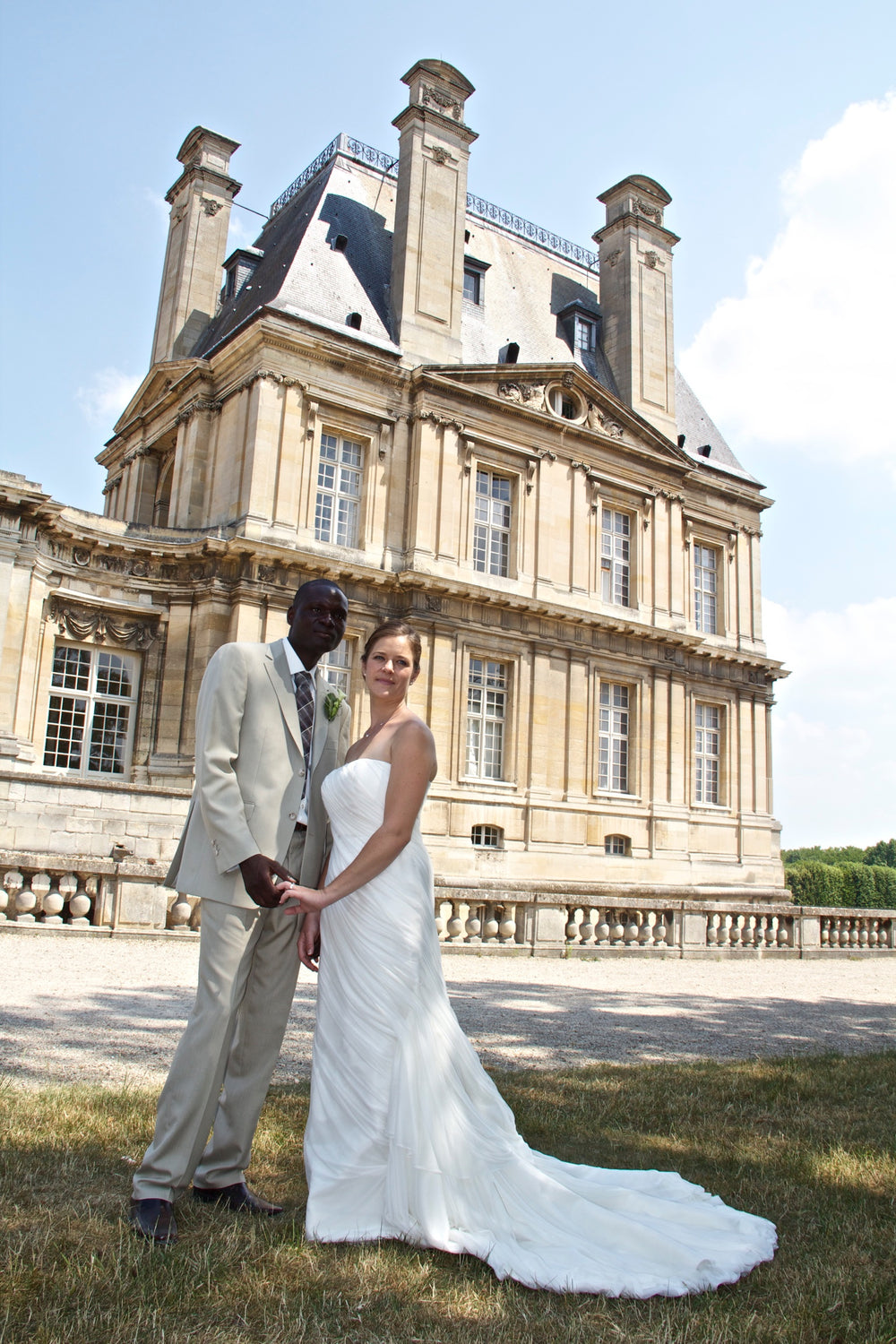 Miles David by David Peck, Custom Wedding Gown, Houston, Paris Wedding