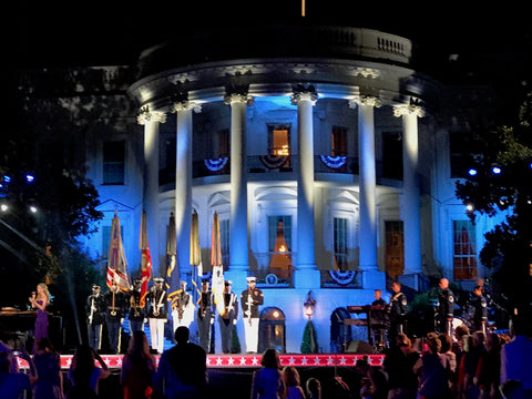 Kelly Levesque Performs at the White House