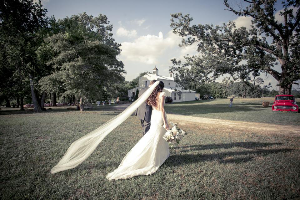 Miles David by David Peck, Custom Wedding Gown, Houston, Country Wedding