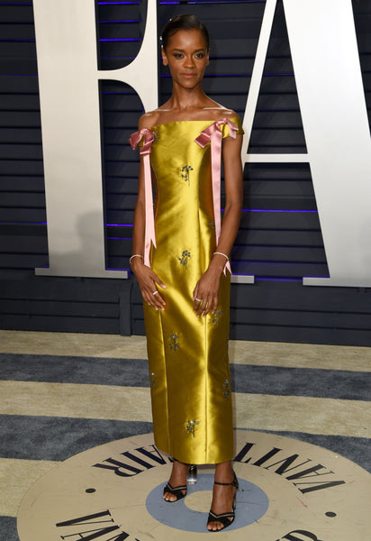 Letitia Wright Vanity Fair Oscars After Party