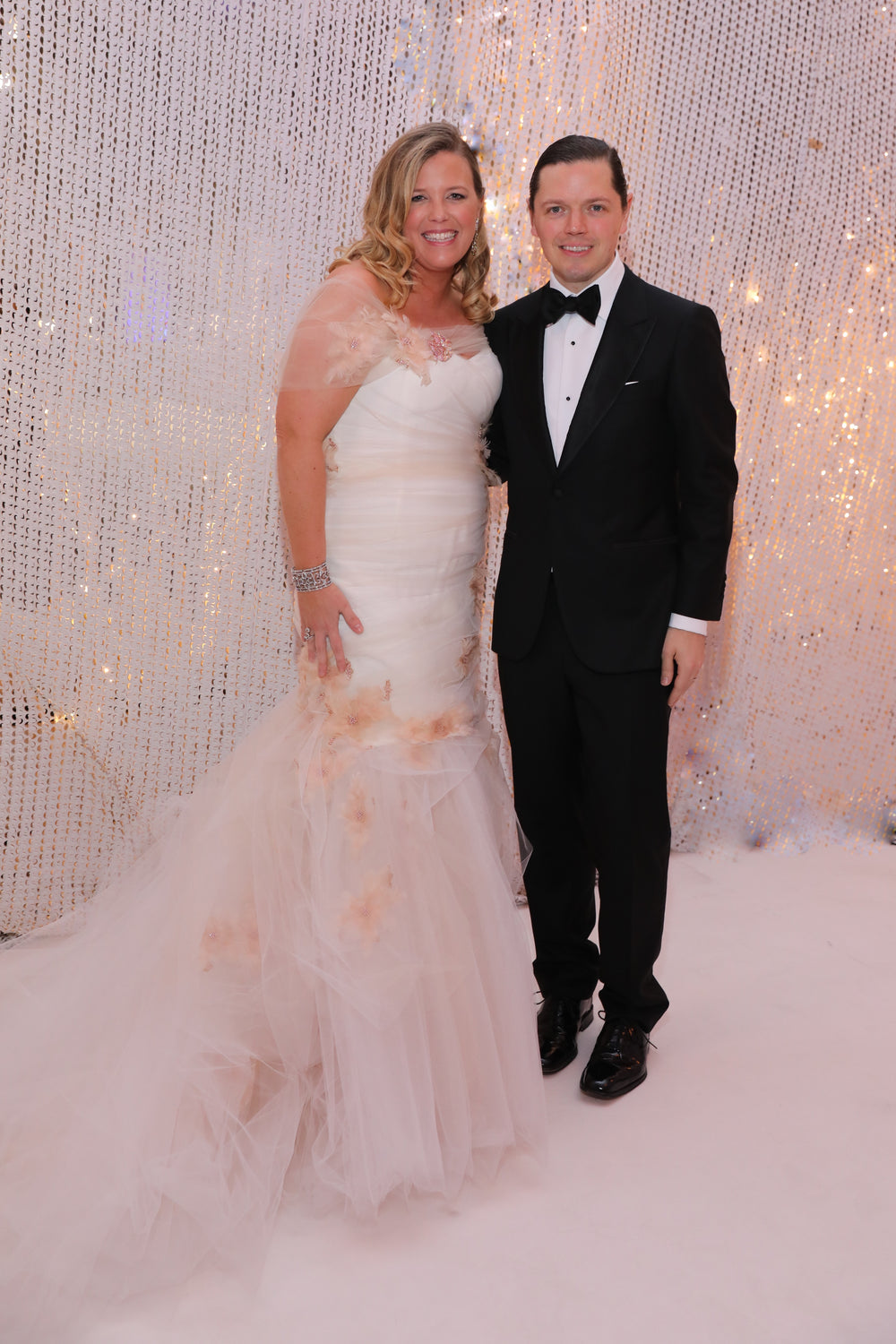 Melissa Segulas, David Peck, Houston Ballet Ball, Custom Gown, Miles David, Nini Jewels