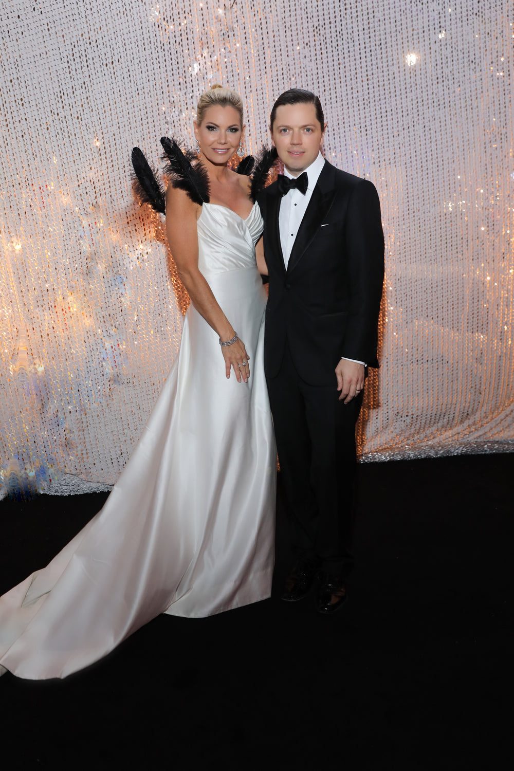 Houston Ballet Ball, Custom Gown, Miles David, David Peck, Van Cleef & Arpels