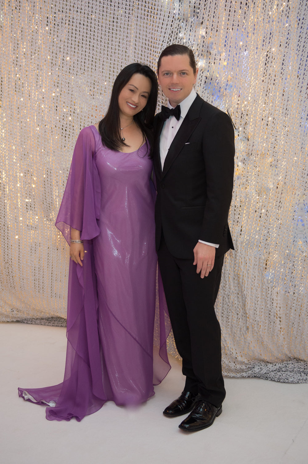 Dr. Bridgette Shen Lee, Houston Ballet Ball, Custom Gown, David Peck, Miles David