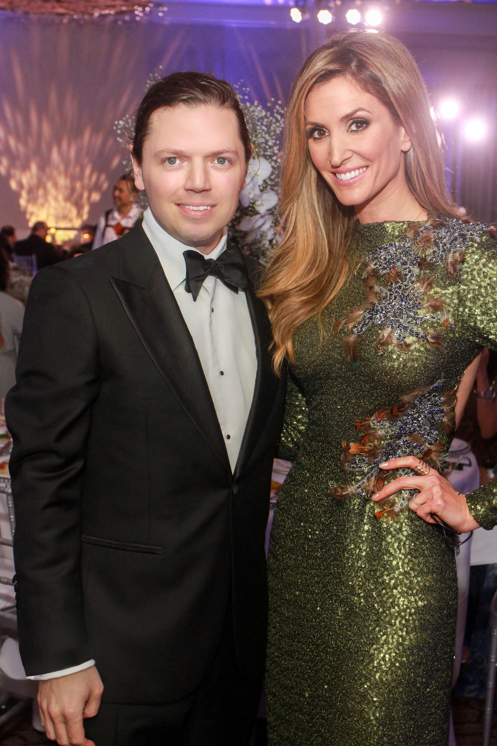 David Peck, Kelly Levesque, KNOWAutism Gala, Miles David Gown, David Peck custom gown