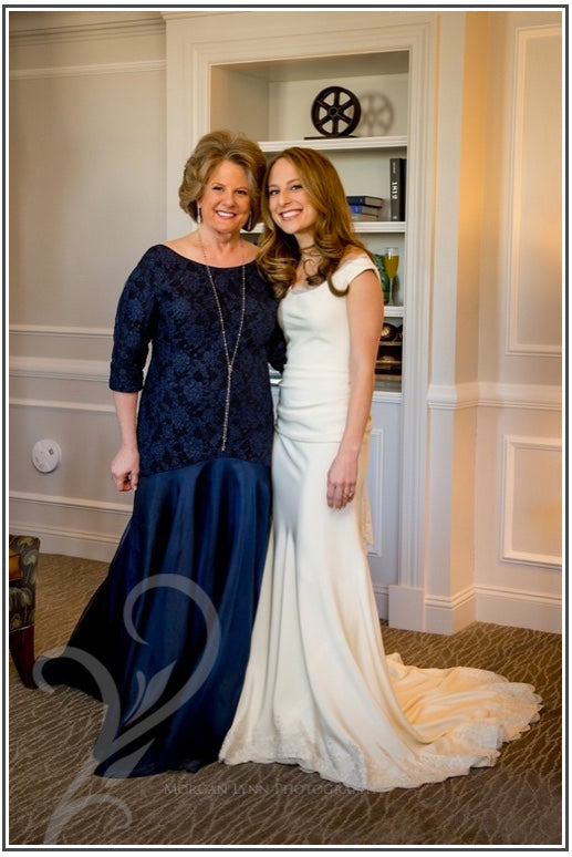 MOB gown, MOG gown, Mother of the Bride Gown, Mother of the Groom Gown, Miles David Custom Gown by David Peck