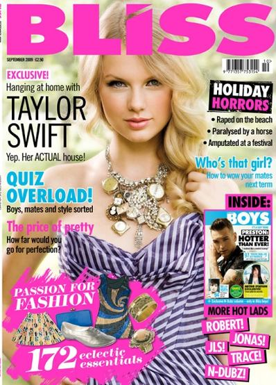 Taylor Swift Bliss Magazine David Peck