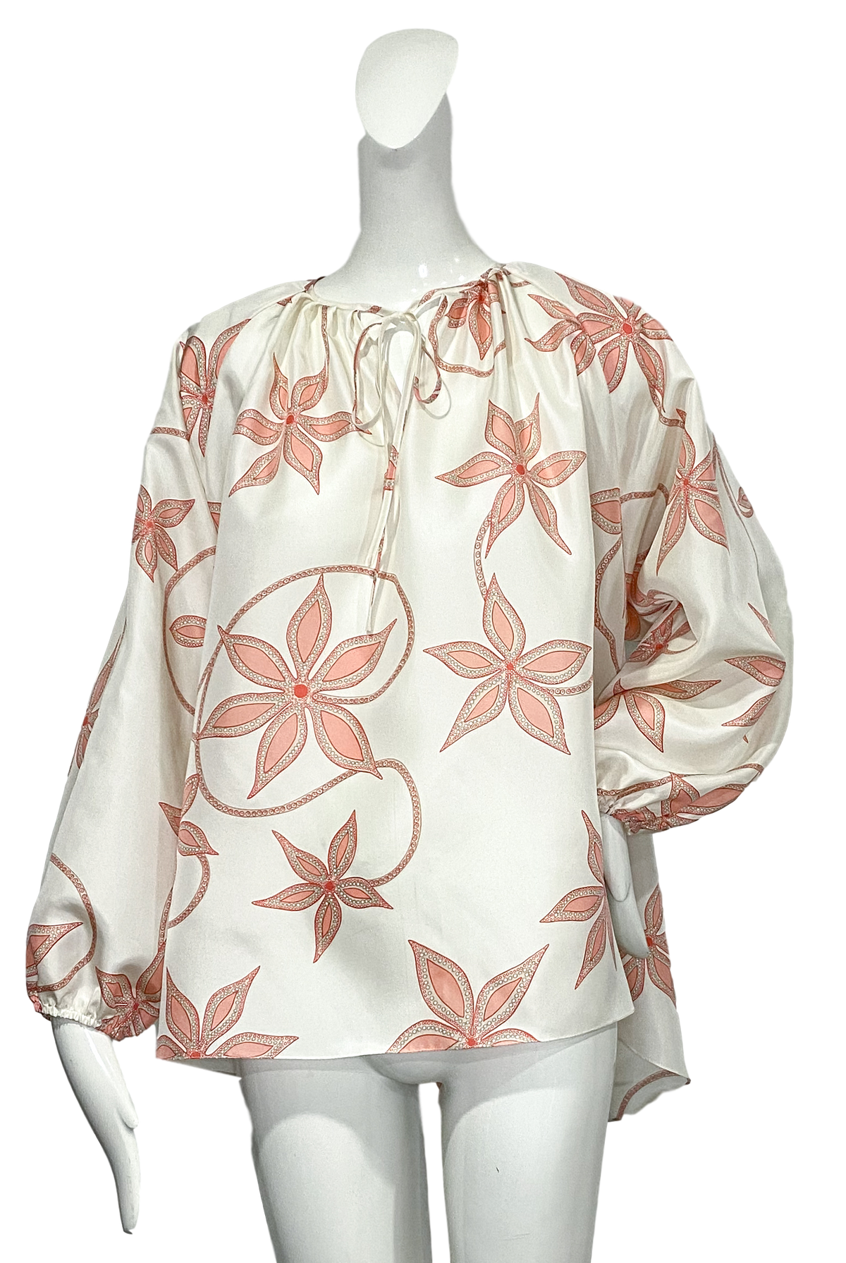 Chimayo Top |  Silk Floral