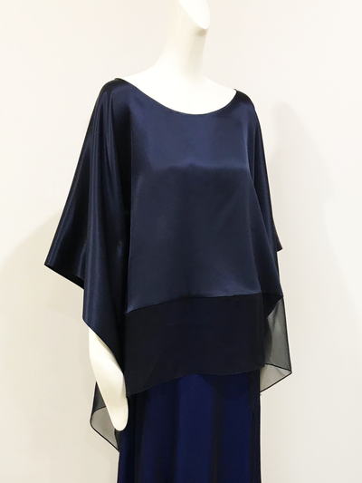 Ella Top | Double Face Charmeuse
