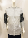 Allegro Blouse | Lace and Star Twill
