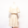 Aster Dress | Cream Stripes