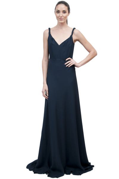 Otero Gown | Beaded Midnight