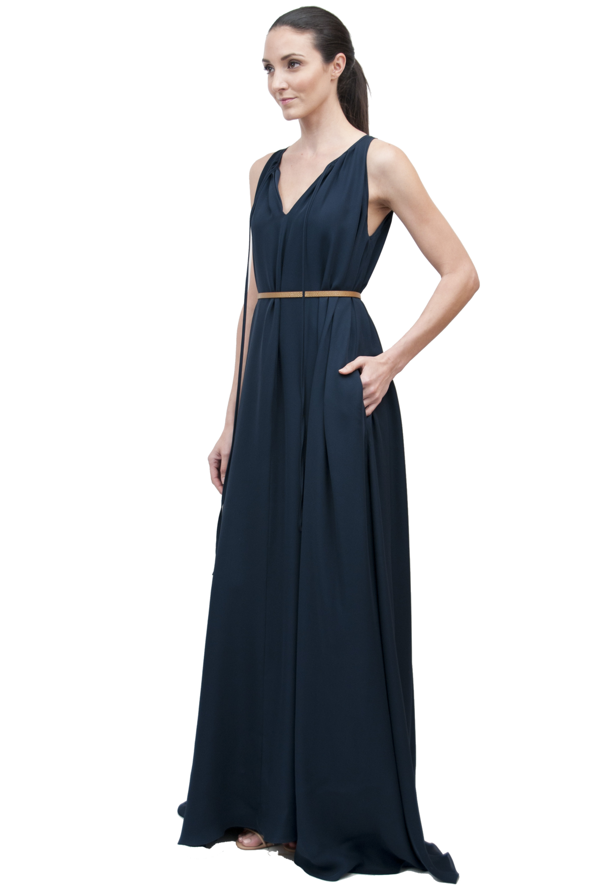 Quintana Gown | Midnight