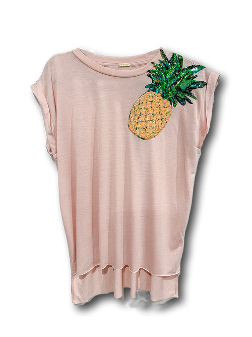 Stevie T-shirt | Peachy Pineapple