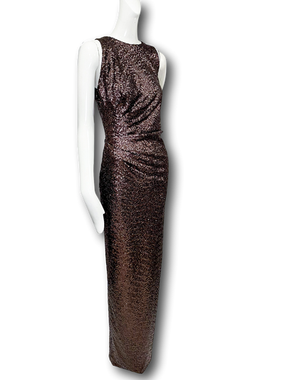 Lexi Gown | Chocolate Sequins