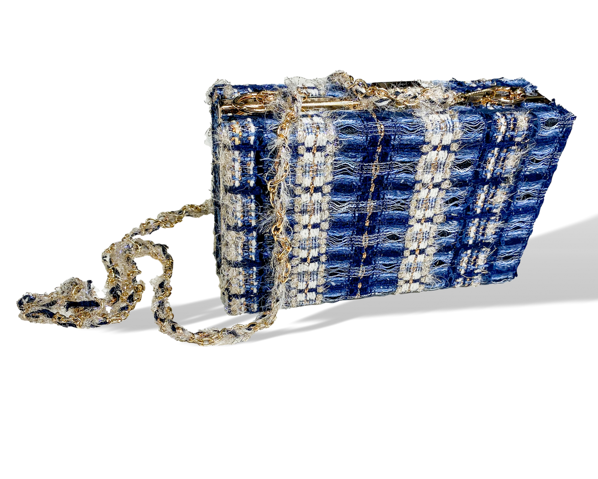 Clutch | Chanel Blue
