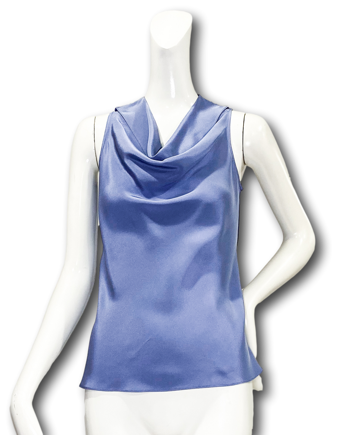 Cowl Neck Top | 4-Ply Silk Crepe
