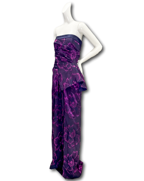 Rampage Gown | Plum Floral