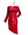 Cienega Dress | Red Sequins