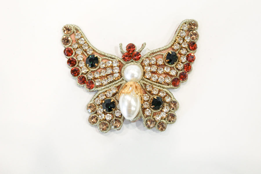 David Peck Lapel Pins and Crystal Brooches
