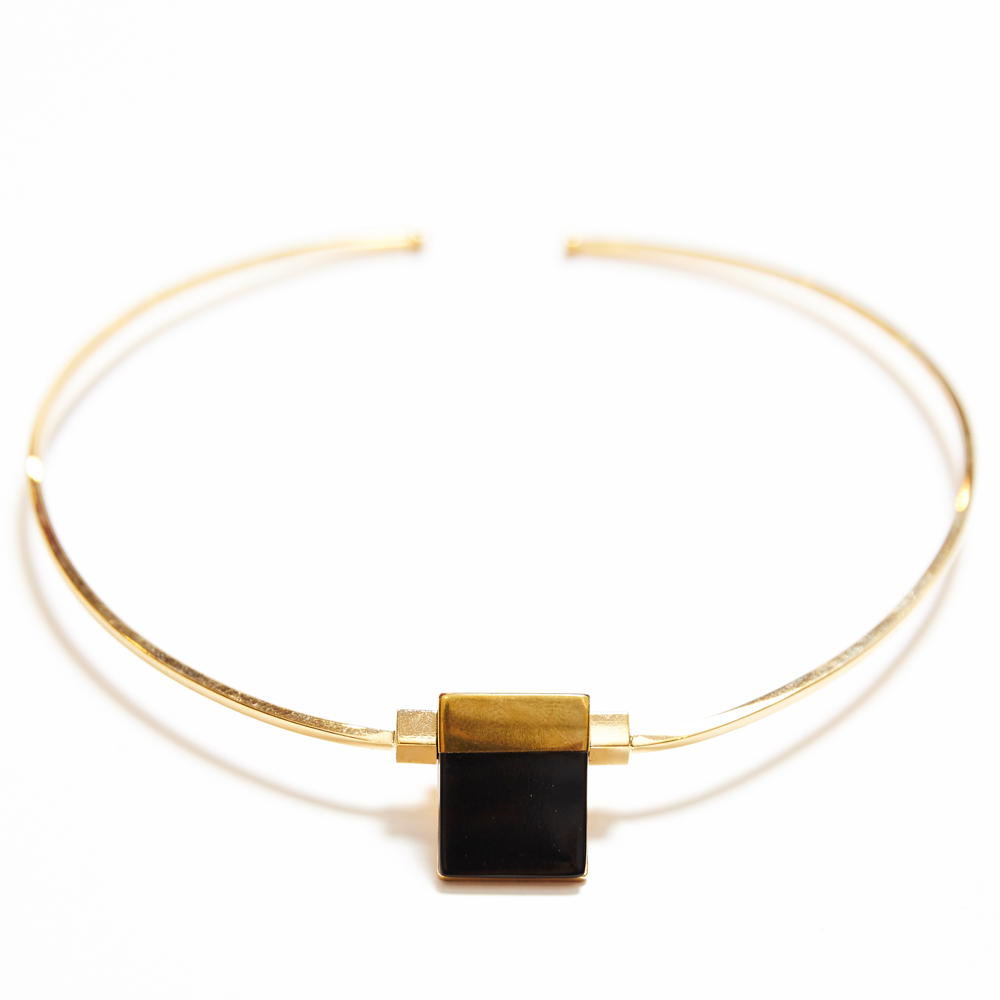 Isabel Marant | Gold & Black From the Block Choker