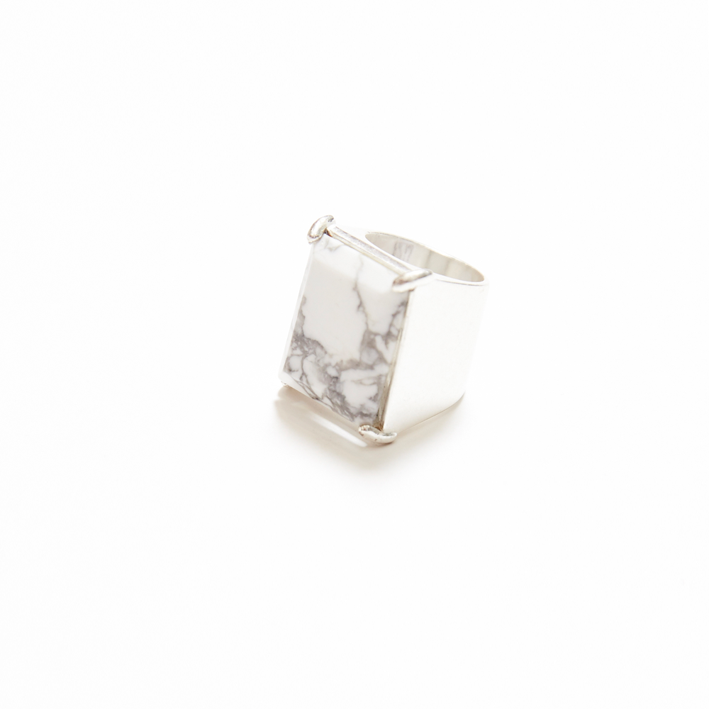 Maison Margiela | Silver Marble Ring