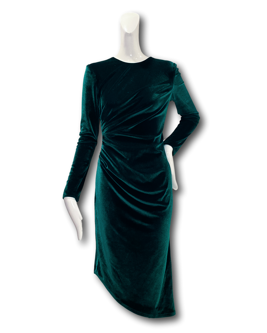 Cienega Dress | Green Velvet