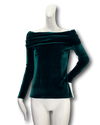 Tucumcari Top | Green Velvet