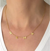 Mama Gold Letter Necklace Christina Greene