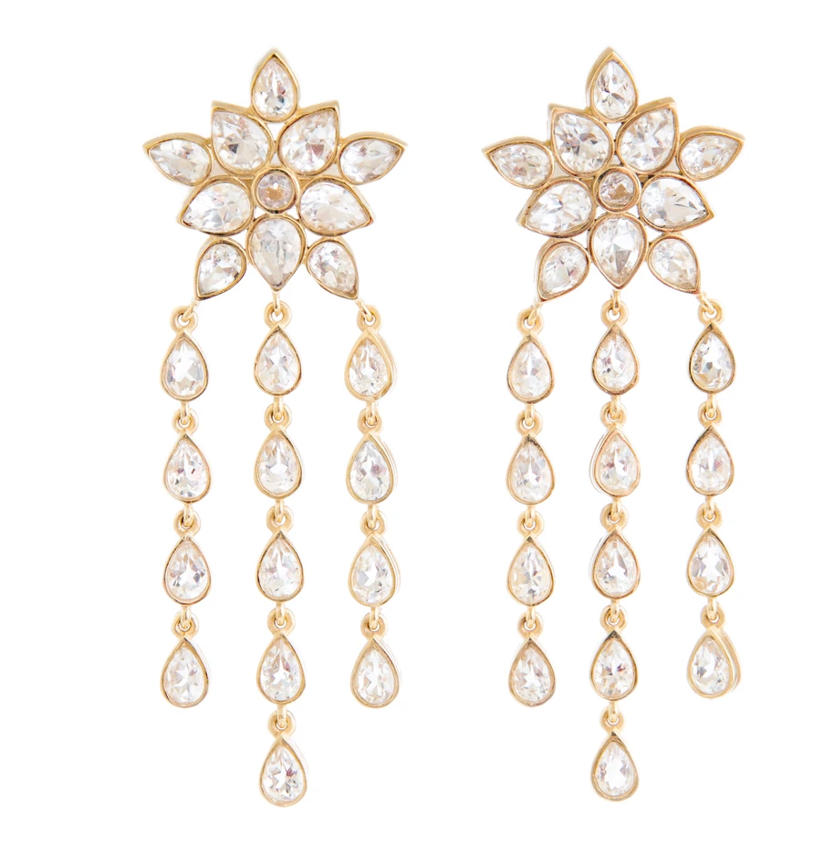 Ellie Crystal Earrings