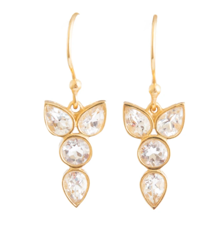 Erin Crystal Earrings