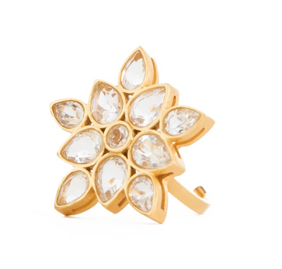 Lauren Crystal Statement Ring