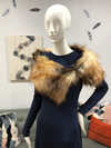 Stole | Red Fox Faux Fur from Miles David by David Peck