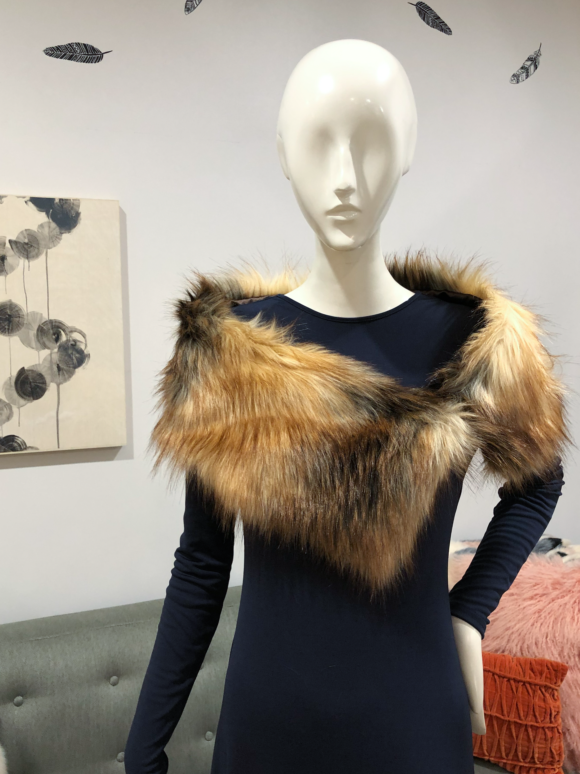 How to stole a fox fur wear recommend dress for summer in 2019
