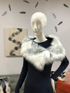 Stole | Crystal Fox Faux Fur from Miles David by David Peck