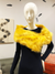 Stole | Yellow Fox Faux Fur from Miles David by David Peck