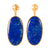 Large Drop Earrings | Lapis By Christina Greene