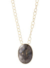 Pendant Necklace- Pyrite