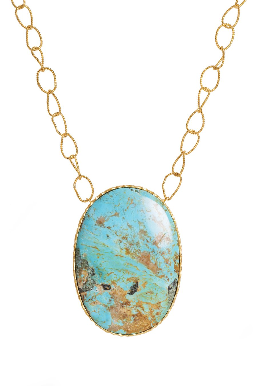 Pendant Necklace | Turquoise By Christina Greene
