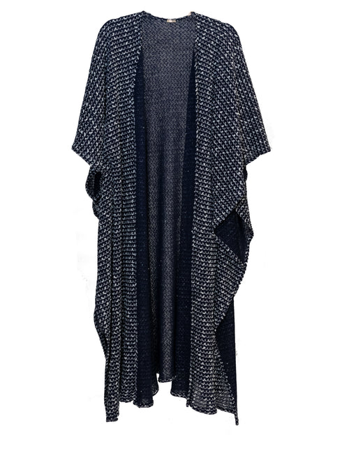 Poncho | Cotton Knit