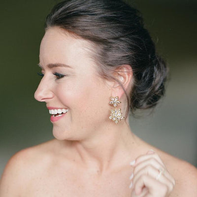 Christina Crystal Earrings | Christina Greene